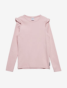 Top Long Sleeve solid School - ALMOND BLOSSOM