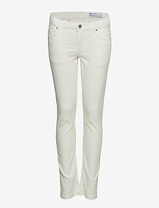 Trousers Solid School - SNOW WHITE