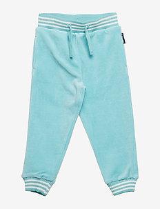 Velour Trousers PreSchool - AQUA HAZE