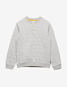 Sweater Long Sleeve  School - GREYMELANGE
