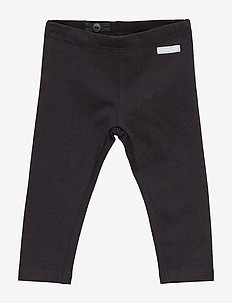Plain Baby Leggings - housut - black
