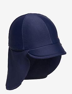 UPF 50 CAP Solid - solhatt - dark sapphire