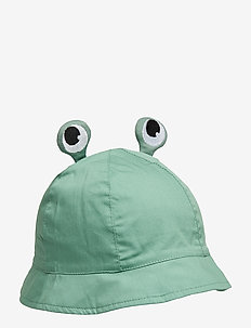 Sunhat W Strings Preschool - MALACHITE GREEN
