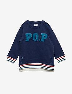 Sweater W Application Preschool - MEDIEVAL BLUE