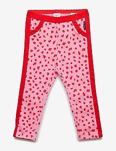 Trousers Jersey AOP Pre-School - SACHET PINK
