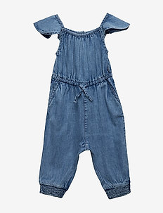 Jumpsuit AOP Preschool - LIGHT DENIM