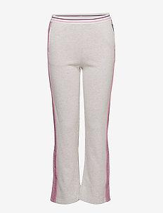 Trousers jersey Solid School - ECRU MELANGE