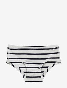 Hipster Striped Preschool - SNOW WHITE
