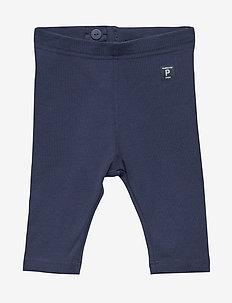 Leggings Solid Preschool - MEDIEVAL BLUE