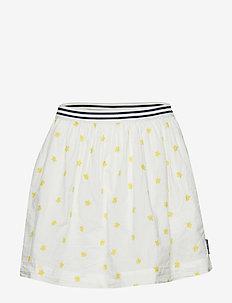 Skirt AOP School - SNOW WHITE
