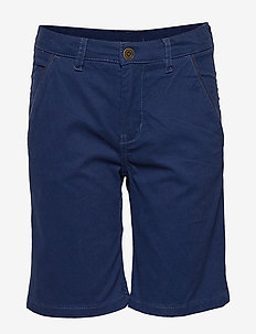 Shorts woven Solid School - MEDIEVAL BLUE
