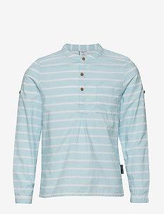 Shirt S/S woven School - COOL BLUE