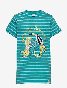 T-shirt S/S Striped School - LATIGO BAY