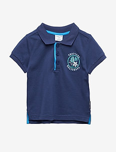 T-Shirt pike Preschool - MEDIEVAL BLUE