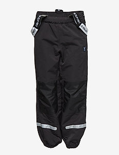 Shell trousers - BLACK