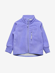 Jacket Windfleece Solid Preschool - ASTER PURPLE
