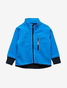 Jacket Windfleece Solid Preschool - FRENCH BLUE