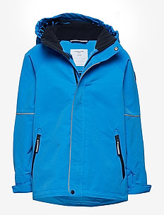 Jacket Shell Solid School - FRENCH BLUE