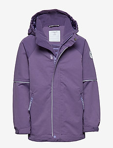 Jacket Shell Solid School - LOGANBERRY