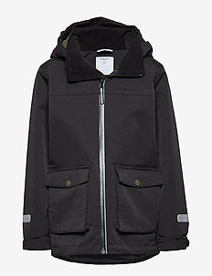 Jacket Shell School - BLACK