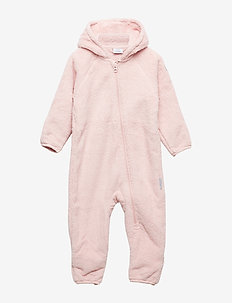 Overall Pile Solid Baby - SILVER PINK