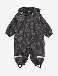 Overall Shell Lined Baby - BLACK