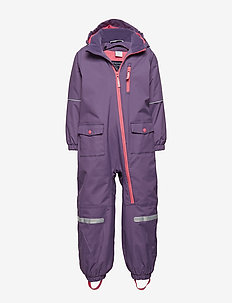 Overall Shell Lined PreSchool - LOGANBERRY