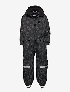 Overall Shell Lined PreSchool - BLACK