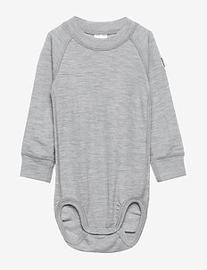 Body Wool Solid Baby - GREYMELANGE