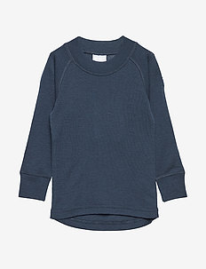 Sweater Wool Solid PreSchool - DARK SAPPHIRE