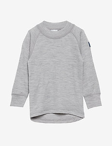 Sweater Wool Solid PreSchool - GREYMELANGE