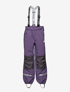 Trousers Shell w Suspendors PreSchool - LOGANBERRY