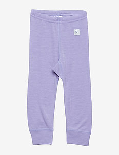 Long Johns Wool Solid Baby - ASTER PURPLE