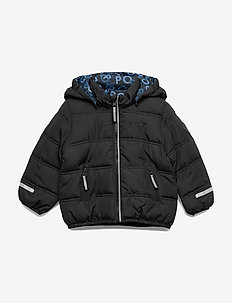 Jacket Reversable Preschool - wyściełana kurtka - black
