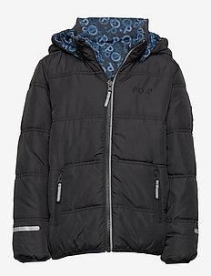 Jacket Reversable School - BLACK