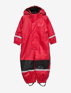 Rain Overall Preschool - RIBBON RED