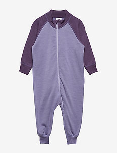 Overall Solid Wool Baby - ASTER PURPLE