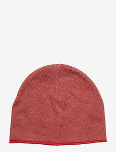 Cap Solid School - RIBBON RED