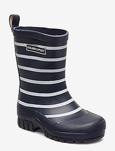 Rubber boots Stripe Baby - gummistøvler - dark sapphire