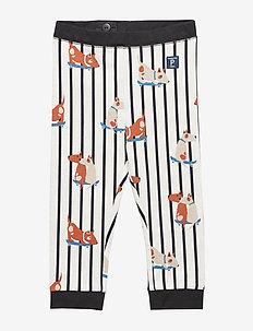 Trouser S/J AOP Preschool - ECRU MELANGE