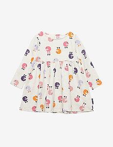 Dress Jersey Preschool - kjoler - ecru melange