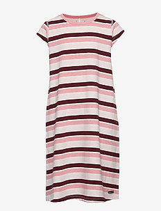 Nightdress Stripe School - TAWNY PORT