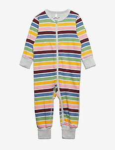 Pyjamas Striped Baby - GREYMELANGE