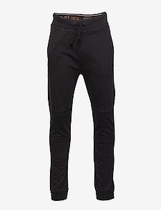 Trouser Jersey Solid School - BLACK