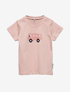 T-shirt S/S Baby - SILVER PINK