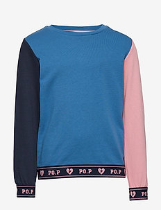 Sweatshirt School - DARK BLUE