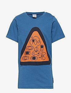 T-shirt Frontprint S/S School - DARK BLUE