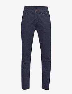 Trousers Woven School - DARK SAPPHIRE
