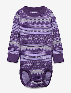 Body Wool Jaquard Baby - ASTER PURPLE