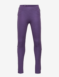 Trousers w frill Preschool - LOGANBERRY